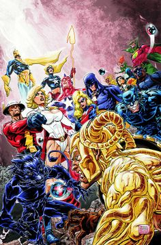 Justice Society Of America by Freddie E. Williams II