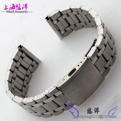 12.60$ Watch now - Bracelet watches with all steel strap steel belt Available for men and women watch 22 | 24 mm flat mouth #magazineonlinebeautiful