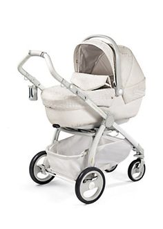 Now only if i had the money! Would love this for my baby! Versace - Modular Stroller in Eco-Leather