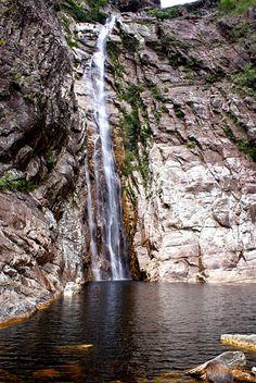 Cachoeira Rabo de Cavalo – Serra do Espinhaço em Minas Gerais - Brasil