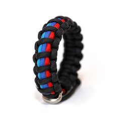 Mens Jewelry BMW M Series Paracord Survival by Tru550Designs