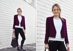 Alexandra Whitfield, Fashion intern