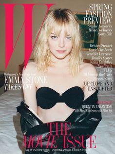 love Emma Stone <3   W Magazine February2013 #cover