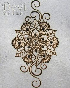 I wish you all a nice week! It's monday! So let's do it! This is dried henna…