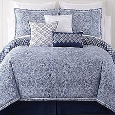 jcp | Liz Claiborne® Arabesque 4-pc. Comforter Set & Accessories