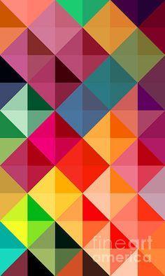 "NEW ART Print ""Mosaic Fragment""©2013 by Donika Nikova - ShaynART - $22 www.shaynart.com Prints available."