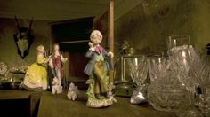 """afterwards – so it felt like a natural progression to work on a film,"""" Barford explains.  The film tells a tragic story played by porcelain figurines residing in a bric-a-brac shop. It explores notions of forbidden love, material wealth and class divisions using traditions of value within ceramics, while also turning the classic 'rags to riches' plot on its head with an unexpected twist. """"The shelves in the film become the entire world for the characters,"""" Barford explains, """"they represent…"""