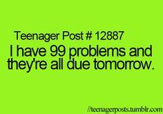 Teenager Posts How i felt during school.