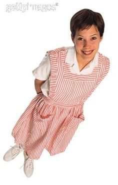 Candy Striper - OMG! Yep, I wore that outfit.