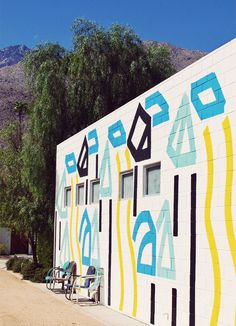 Ace Hotel Palm Springs, designed by Commune (Los Angeles) and Atelier Ace