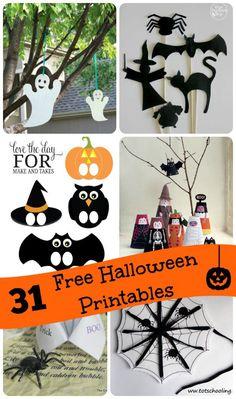 31 Free Printable Halloween Activities to do with Kids – Scrap Booking kids crafta