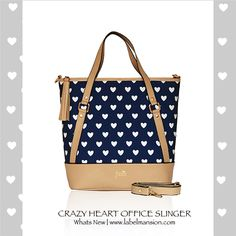 New Arrivals: Crazy Heart Office Slingers & More! http://www.labelmansion.com/os-1.html #labelmansion #bags #officeslingers #slings #love #hearts #office #ootd #like #follow #100likes #l4l #f4f #instapic #instagram #igers #fashionigers #stylists #bloggers #fashionbloggers #india #girls #girly #style #shoponline #labelmansion.com