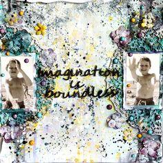 13arts: Imagination is boundless Splashed LO by Ayeeda