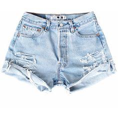 ❁✧уσυ αяє му ѕυѕнιиє✧❁ ριитєяєѕт•αѕнℓєє @darlingbirdie✧❁ Short Outfits, Summer Outfits, Cute Outfits, Distressed Denim Shorts, Ripped Denim, Ripped Shorts, Short Shorts, Vintage Shorts, Vintage Denim