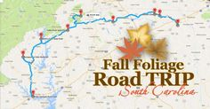 Take This Gorgeous Fall Foliage Road Trip To See South Carolina Like Never Before