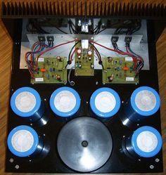 Super Class-A Amplifier Heatsink and PCB
