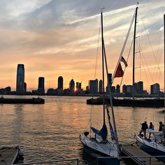 Sail toward the sunset. What an amazing reward for a busy work day!  OKTIUM #Sunset #Yacht #Face2HumanConnection #BusyDay #Reward