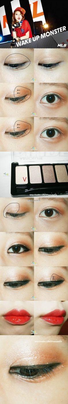 #秀智#MISS A Makeup