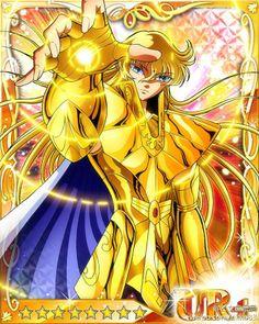 Shaka de Virgem. Cavaleiro que protege a sexta do zodiaco.