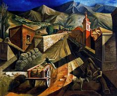 Spilimbergo, Lino Enea (1896-1964) - 1929 San Juan Landscape by RasMarley, via…