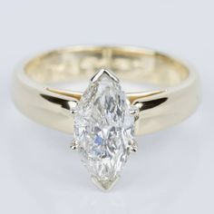This stunning recently purchased Marquise Diamond Cathedral Engagement Ring in Yellow Gold is off to one lucky lady! Thinner shank please! Makes the diamond appear even larger! Engagement Ring Cuts, Vintage Engagement Rings, Marquee Engagement Rings, Yellow Engagement Rings, Diamond Wedding Bands, Wedding Rings, Wedding Cakes, Minions, Marquise Diamond