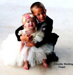 Wedding children--love the sweet feet!
