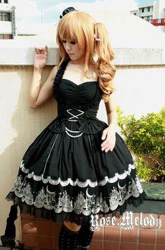 Rose Melody Cherry-Go-Around JSK Dress