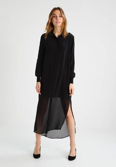 Holzweiler GISELLE - Maxi dress - black for with free delivery at Zalando Maxi Dresses, Summer Dresses, Fabric Material, Feminine, Bohemian, Silk, Outfits, Black, Scale Model