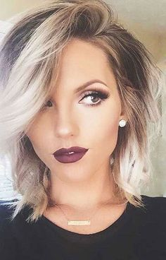 15 Ombre Hairstyles For Short Hair ,  Ombre is trending right now. As you know, ombre hairstyles for short hair is graduating from light to dark color. Everyone has been talking about it a... , Hair Color