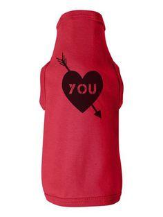 Heart You Baby-Rib Dog Tank