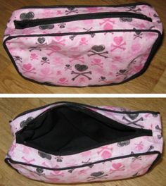 Materials Needed to Sew this Cosmetic or Toiletry Bag
