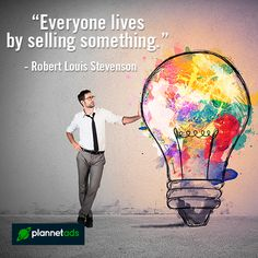 """""""Doing business without advertising is like winking at a girl in the dark. You know what you are doing, but nobody else does."""" -Steuart H. Britt  #Advertising #Selling #Plannetads"""