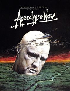 "theactioneer: "" Apocalypse Now alt poster (Francis Ford Coppola, "" Old Movie Posters, Classic Movie Posters, Movie Poster Art, Film Posters, Apocalypse Now Movie, Apocalypse Now Redux, Iconic Movies, Old Movies, Great Movies"