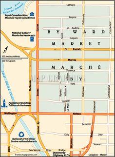 Orientation Map Ottawa, Line Chart, Oriental, Map, Gallery, Fine Art Paintings, Location Map, Peta, Maps