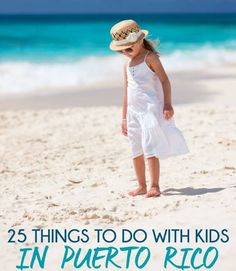 San Juan Puerto Rico isn't just a place with nice beaches, it's a perfect family vacation. Try one of these 25 things to do in Puerto Rico with kids!