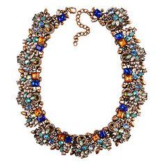 Jane Stone Elegant Bling Fashion Jewelry Necklace Flower Statement Bib Collar Necklace ** CONTINUE @ http://www.ilikeboutique.com/boutique/jane-stone-elegant-bling-fashion-jewelry-necklace-flower-statement-bib-collar-necklace/?b=0744