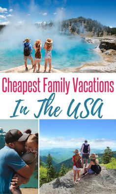 Looking for some budget friendly US vacation destinations this year? We've gathered some of the cheapest places to travel in the US for your next family vacation. Best Us Vacations, Affordable Family Vacations, Best Places To Vacation, Cheap Places To Travel, Family Vacation Destinations, Vacation Ideas, Travel Destinations, Vacation Outfits, Vacation Travel