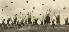 1953 Olympics : The Ukranian 'Massed Shot Put' Athletes won Silver but destroyed the Shot Put venue in the process.