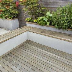 Roof Terrace Design Penthouse Apartment Kingu0027s Cross Development, Expanse  Of Decking Storage Benches And Planters