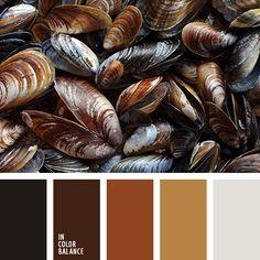горчичный, оттенки коричневого, подбор цветов, почти-черный, серый, темно-коричневый, теплые оттенки, теплый коричневый, черный, шоколадный.