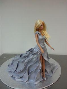 Walkway Barbie Cake