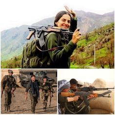 These are not just an ordinary fighters but our extraordinary warriors.  #Kurdistan #ISIS #YPG #YPJ #TwitterKurds