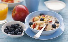 #Desayunos súper deliciosos que aceleran tu metabolismo. #adelgazar #metabolismo #breakfast #cereal #fruits #apple