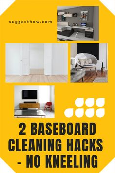Does the thought of cleaning baseboards hurt your back? How often to clean baseboards anyway? Find out some of the best ways for how to clean baseboards without keeling. #DIYcleaningrecipe #cleaninghacks #cleaningtricks #homehacks #home #homemaintenance #homemaking #homemakingtips #housekeeping #householdhacks Deep Cleaning Tips, Household Cleaning Tips, Cleaning Hacks, Hacks Diy, Home Hacks, Cleaning Baseboards, Shower Tub, Homemaking, Housekeeping