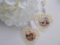 Putti earrings Art earrings antique art jewelry art history jewelry retro jewelry renaissance jewelry  (80.00 EUR) by crizartshop