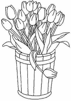 Free Printable Coloring Pages for children - A coloring book Flower Coloring Pages, Coloring Book Pages, Printable Coloring Pages, Coloring Sheets, Spring Coloring Pages, Fairy Coloring, Mandala Coloring, Embroidery Patterns, Hand Embroidery