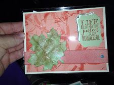 2014 Stampin UP convention my card