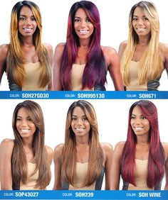 Model Model Synthetic Deep Invisible Part Lace Front Wig Perla