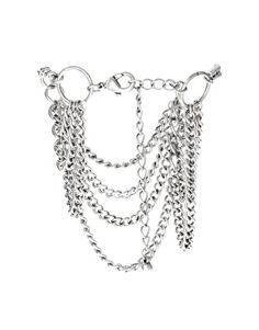 asos draping chains anklet