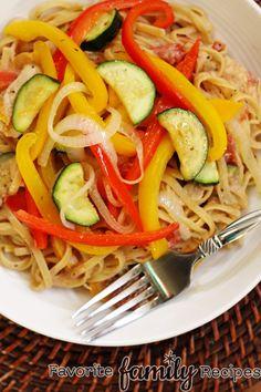 skillet pasta   Summer Skillet Pasta   Cooking and Recipes
